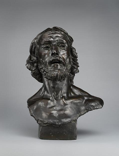 St. John the Baptist, Auguste Rodin (French, Paris 1840–1917 Meudon), Bronze, French