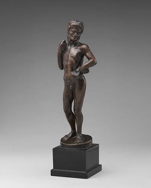 Hercules (?), School of Antonio Pollaiuolo (Italian, Florence ca. 1432–1498 Rome), Bronze, Italian, Florence