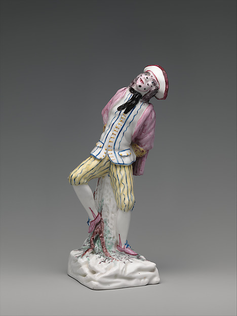 Lawyer from the Italian Comedy, Mennecy, Soft-paste porcelain, French, Mennecy