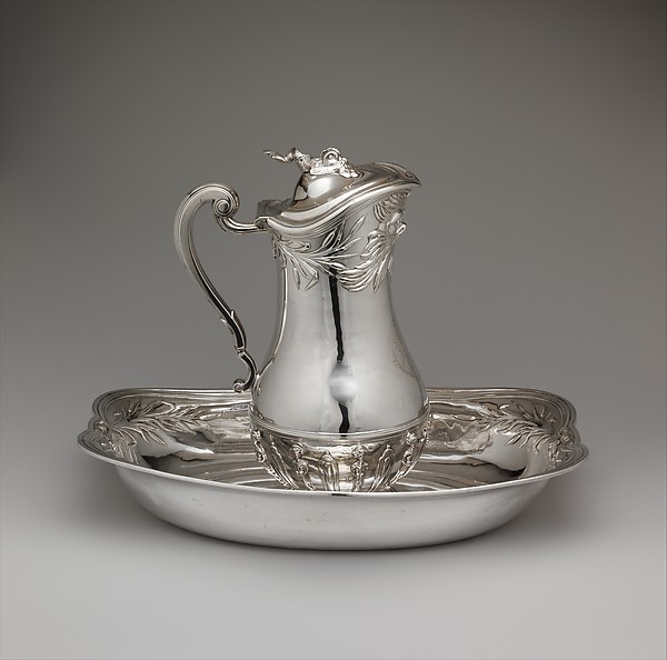 Basin, Marc Bazille (1706–1777, master 1732), Silver, French, Montpellier