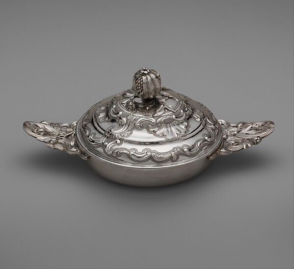Bowl (Écuelle) with cover, Louis Landes (master ca. 1770, active 1789), Silver, French, Toulouse