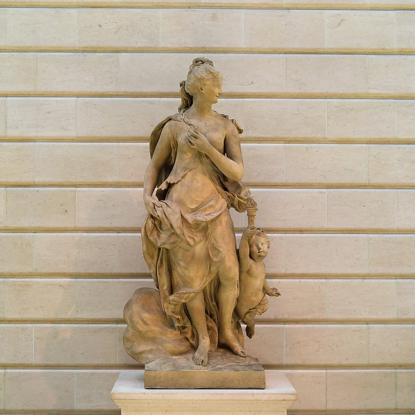 Fire, Probably by Jean-Pierre Defrance (1694–1768), Limestone, French, Rouen