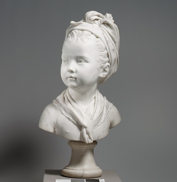 Louise Brongniart, Jean Antoine Houdon (French, Versailles 1741–1828 Paris), Marble, French, Paris