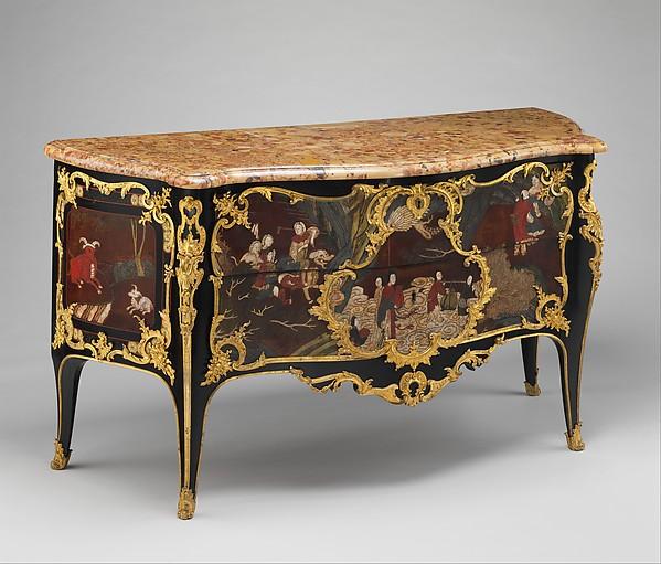 Commode, Bernard II Van Risenburgh (ca. 1696u2013ca. 1767),