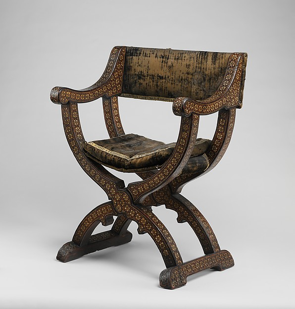 Hip Joint Armchair (sillón De Cadera Or Jamuga), Walnut And Elm,