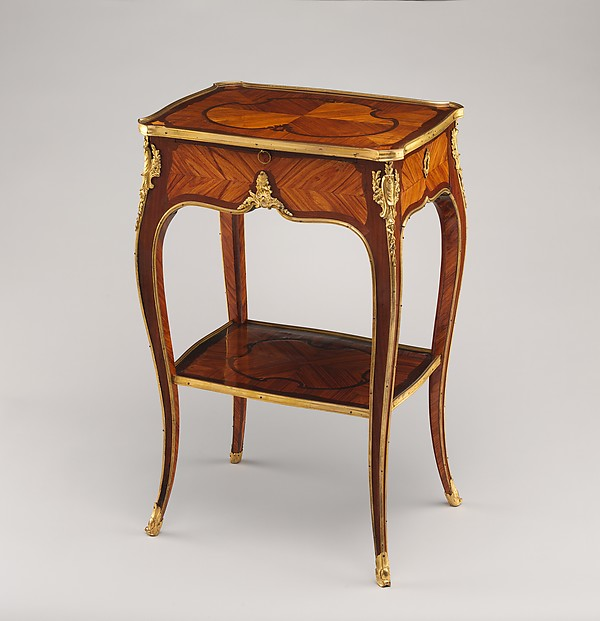 Small Oblong Table, Antoine Mathieu Criaerd (French, 1724u20131787),