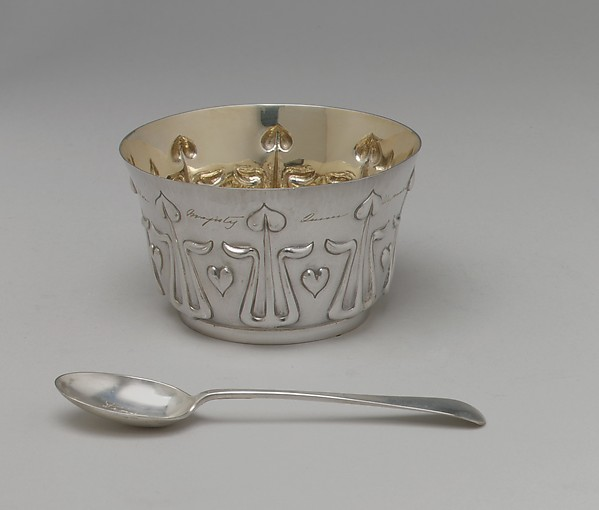 Child's porridge spoon, Roberts and Belk, Silver, British, Sheffield