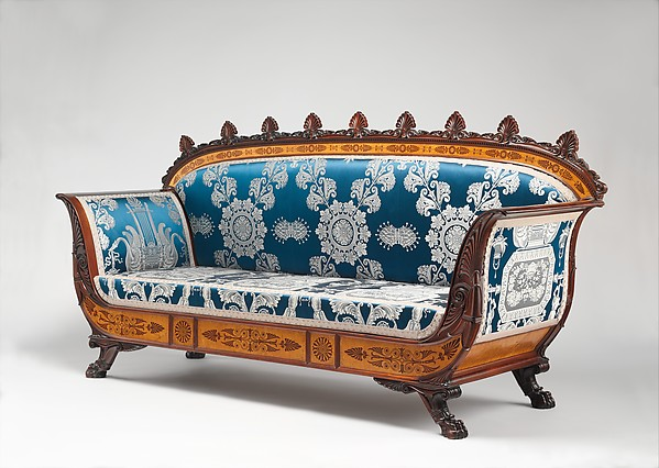Sofa (part Of A Set), Designed By Filippo Pelagio Palagi (Italian,