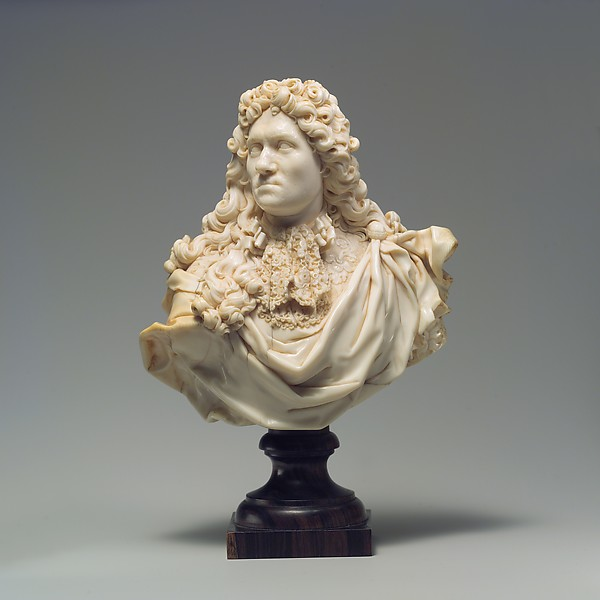 Bust, C. Lacroix, Franco-Flemish (Franco–Flemish, born Burgundy, active Genoa), Elephant ivory, probably French