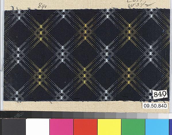 Piece, Cotton, German