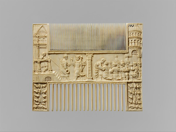 Scenes from the Story of Joseph, Ivory, probably Flemish