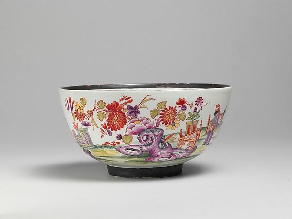Bowl, Vienna, Hard-paste porcelain, Austrian, Vienna