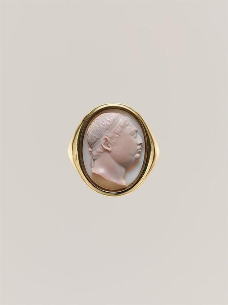 George III, Onyx and gold, British