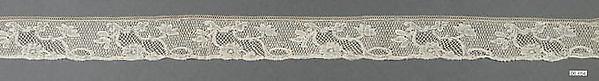 Fragment, Bobbin lace, Flemish, Mechlin