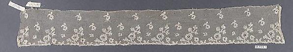 Lappets, Bobbin lace, Flemish, Mechlin