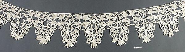 Border, Bobbin lace, Italian