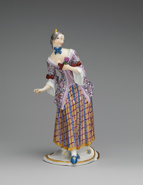 Lucinda, Nymphenburg Porcelain Manufactory (German, 1747–present), Hard-paste porcelain, German, Neudeck-Nymphenburg