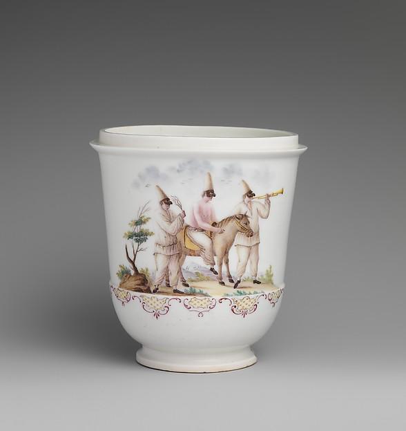 Jar, Capodimonte Porcelain Factory (Italian, 1740/43–1759), Soft-paste porcelain, Italian, Naples