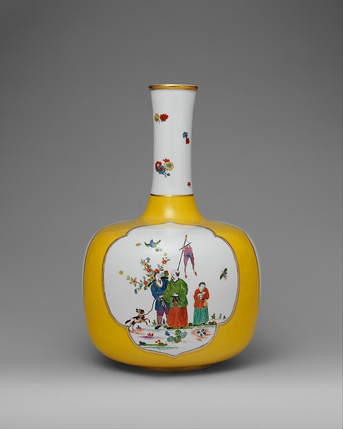Vase, Meissen Manufactory (German, 1710–present), Hard-paste porcelain, German, Meissen