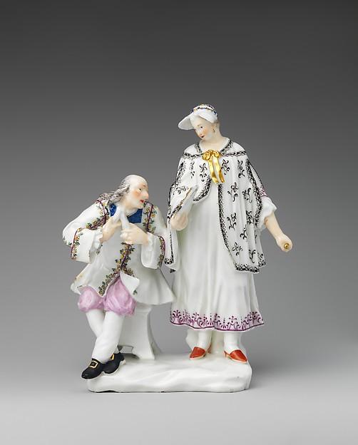 The Cravat, Capodimonte Porcelain Factory (Italian, 1740/43–1759), Soft-paste porcelain, Italian, Naples