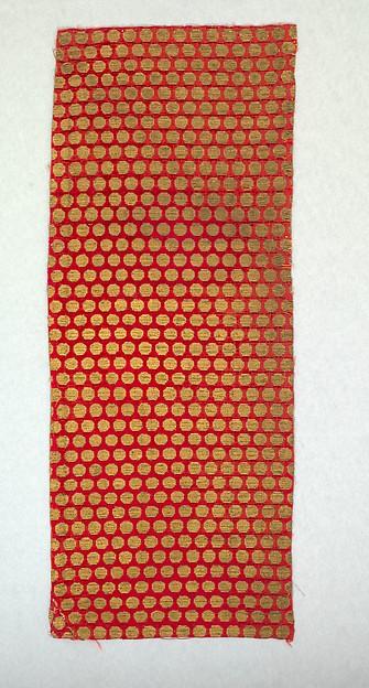 Panel of velvet, Silk and metal thread, Iranian, probably Tabriz