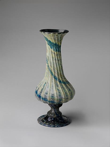 Vase, Glass, Italian, Venice (Murano)
