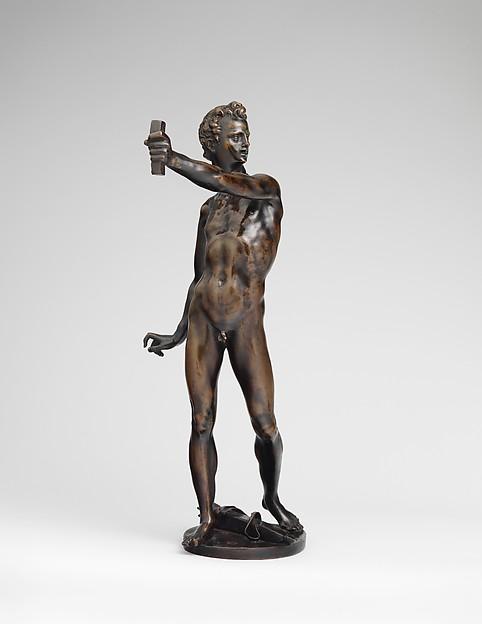 Apollo, Adriaen de Vries (Netherlandish, The Hague ca. 1545–1626 Prague), Bronze, German, probably Augsburg