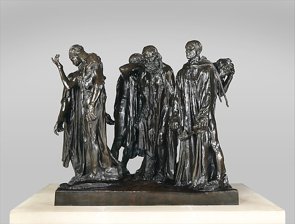 The Burghers of Calais, Auguste Rodin (French, Paris 1840–1917 Meudon), Bronze, French, Saint-Rémy-lès-Chevreuse