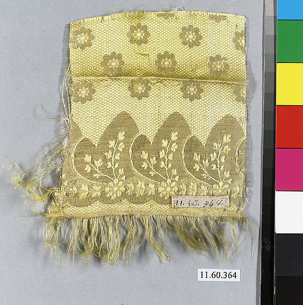 Fragment, Silk, possibly French