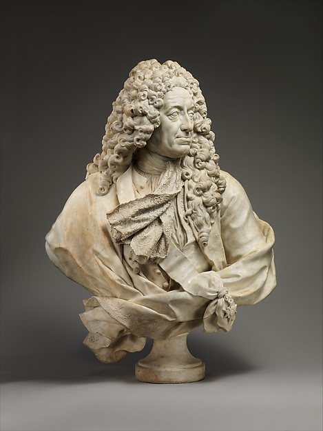 Samuel Bernard (1651–1739), Guillaume Coustou the Elder (French, Lyons 1677–1746 Paris), Marble, French, Paris