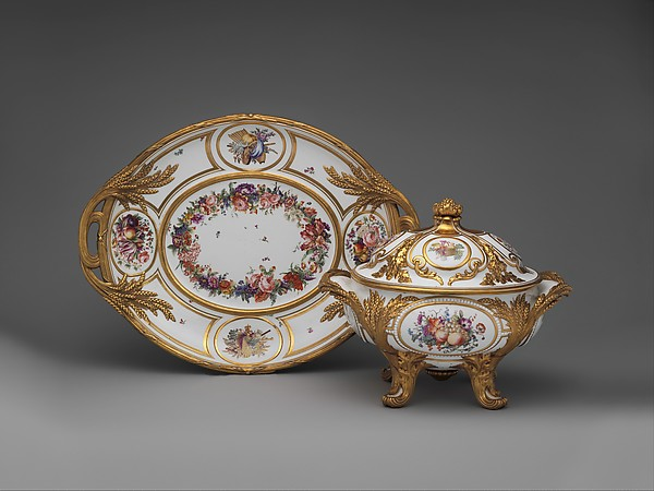 Stand, Sèvres Manufactory (French, 1740–present), Hard-paste porcelain, French, Sèvres