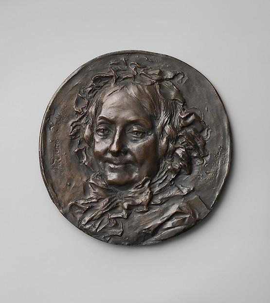Madame Defly (1785–1875), Jean-Baptiste Carpeaux (French, Valenciennes 1827–1875 Courbevoie), Cast bronze, French, Paris