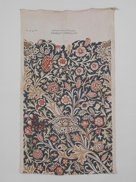 Trent, John Henry Dearle (British, 1860–1932), Linen, British, Merton Abbey