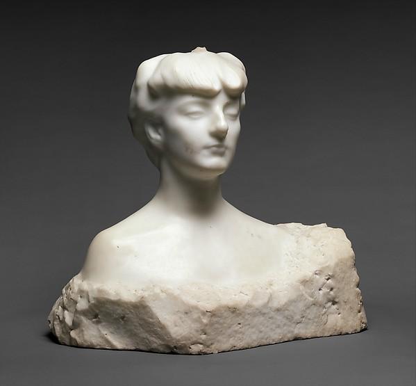 Madame X (Countess Anna-Elizabeth de Noailles), Auguste Rodin (French, Paris 1840–1917 Meudon), Marble, French