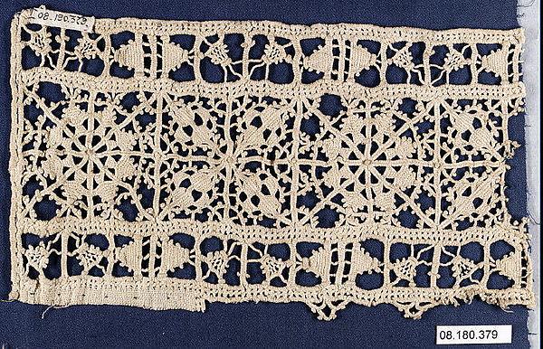 Fragment, Needle lace, Greek