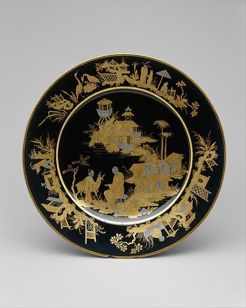 Plate, Sèvres Manufactory (French, 1740–present), Hard-paste porcelain, French, Sèvres