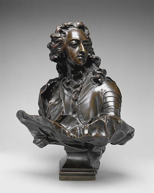 Louis XV, After Jean-Baptiste Lemoyne the Younger (French, Paris 1704–1778 Paris), Bronze, French