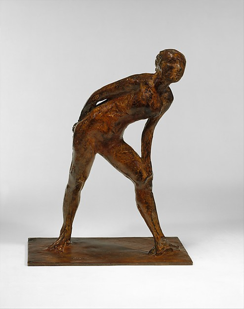 Dancer in the Role of Harlequin, Edgar Degas (French, Paris 1834–1917 Paris), Bronze, French