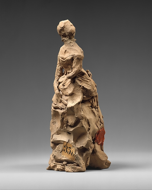 Impression of Amélie de Montfort, Jean-Baptiste Carpeaux (French, Valenciennes 1827–1875 Courbevoie), Terracotta, French, Paris