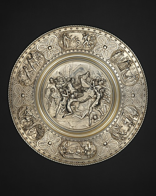 The Stockbridge Cup, Designed by Henry Hugh Armstead (British, London 1828–1905 London), Silver, parcel gilt, British, London
