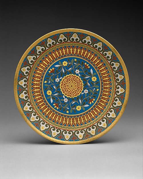 Plate, Minton(s) (British, Stoke-on-Trent, 1793–present), Bone china, British, Stoke-on-Trent, Staffordshire