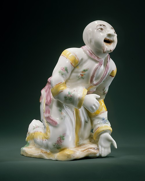 Actor, Possibly Mennecy or, Soft-paste porcelain, French, possibly Mennecy or Sceaux