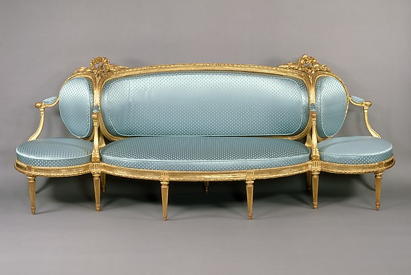 canape sofa french louis xiv style canape sofa settee canapes settees and thesofa. Black Bedroom Furniture Sets. Home Design Ideas