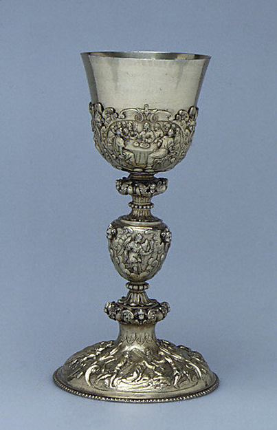 Chalice, Adam Pijart (born 1579, master 1610), Gilded silver, French, Paris