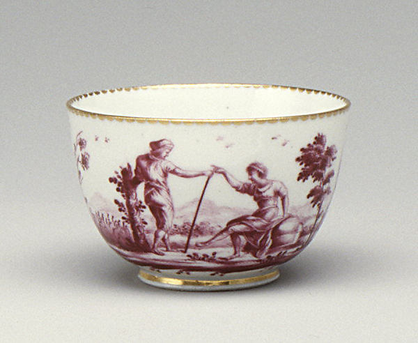 Cup, Doccia Porcelain Manufactory (Italian, 1737–1896), Hard-paste porcelain, Italian, Florence