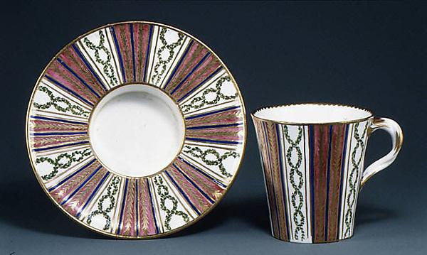 Cup (gobelet), Sèvres Manufactory (French, 1740–present), Soft-paste porcelain, French, Sèvres