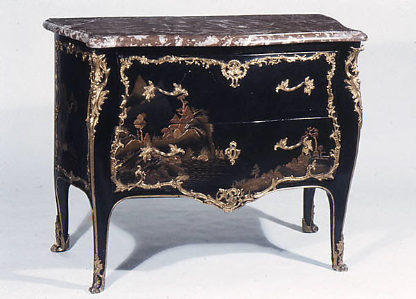 Commode, Antoine Mathieu Criaerd (French, 1724u20131787), Painted And