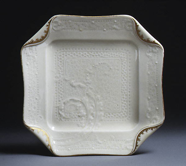 Dish, Design attributed to Albert-Louis Dammouse (French, Paris 1848–1926 Sèvres), Hard-paste porcelain, French, Limoges