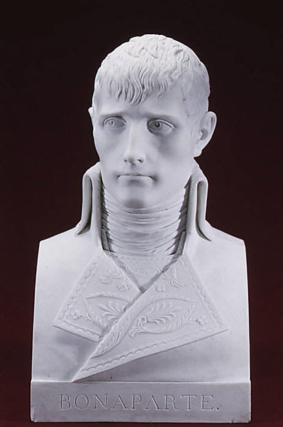 Napoleon Bonaparte (1769–1821) as First Consul, Dihl et Guérhard (French, 1781–ca. 1824) (Manufacture de Monsieur Le Duc d'Angoulême, until 1789), Hard-paste biscuit porcelain, French, Paris