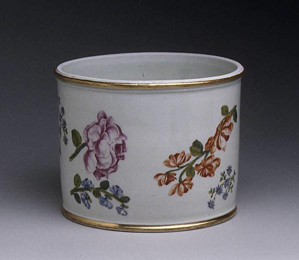 Container, Vienna, Hard-paste porcelain, Austrian, Vienna
